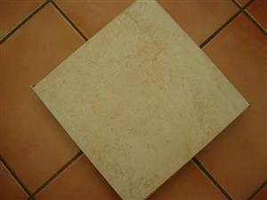 Tiles - Porcelain - 400x400 - Colour Beige -  NEW