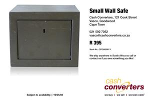 Small Wall Safe