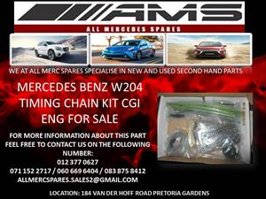 MERCEDES BENZ W204 TIMING CHAIN KIT CGI FOR SALE