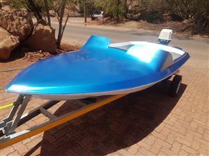 65hp Suzuki  boat project