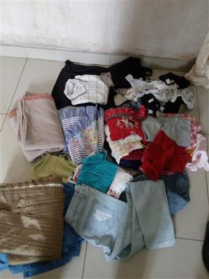 Second hand clothes in good conditions