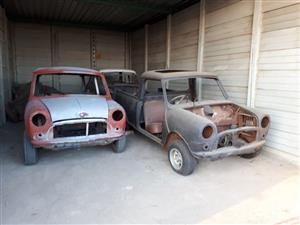 3 classic Mini's for sale