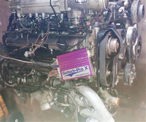 Toyota 2JZ GTE Twin Turbo including Gotech-Pro X management