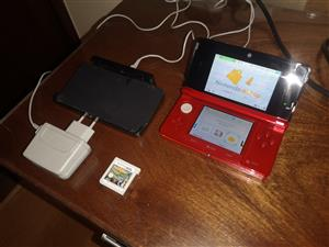 Nintendo 3DS with dock station and charger 3ds Game bundle
