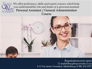 Personal Assistant / General Administration Course @ Susca Watts Academy