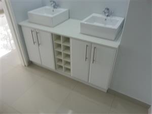 Bathrooms, bedrooms and kitchens