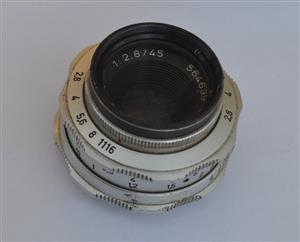 Lens for Braun Super Paxette