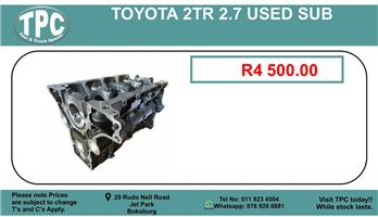 Toyota 2.7 2Tr Used Sub For Sale