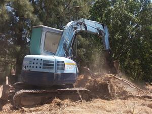 Hitachi 6ton Escavator