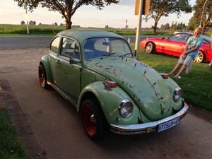 '74 Beetle rad rot, 1300