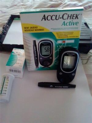 Accu-Chek Active Blood Glucose Meter for Diabetics