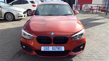 2018 BMW 1 Series 120i 5 door M Sport steptronic