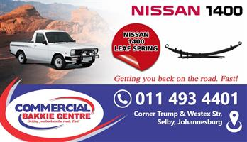 nissan 1400 leaf springs