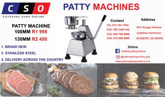 Patty Machines Available for sale