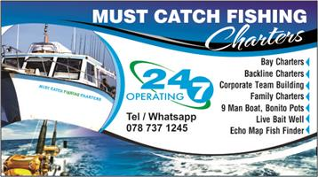 Fishing charters durban