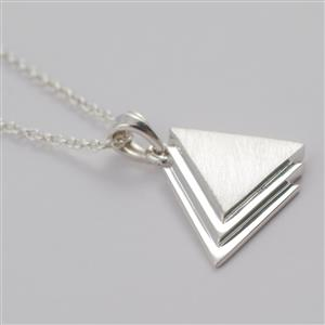 ATHEIST Pure Sterling Silver pendant & chain