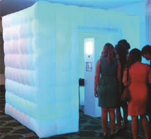 Inflatable led photo booth, start your own photobooth business now.