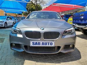 2015 BMW 5 Series sedan 520d M SPORT A/T (G30)