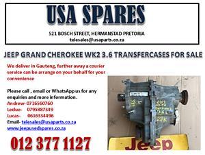 JEEP GRAND CHEROKEE 3.6 WK2 TRANSFER CASE FOR SALE.