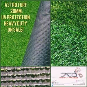 ARTIFICIAL TURF (GRASS) - 25mx2m ROLLs - BARGAIN PRICES