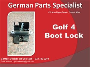 Golf 4 Boot Lock