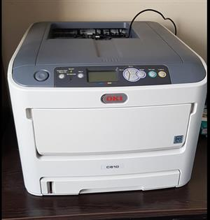 OKI C610 LASER PRINTER FOR SALE!