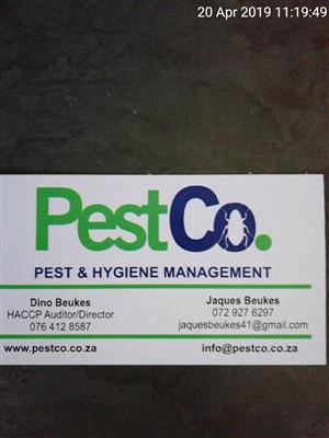 PestCo. - Pest & Hygiene Management