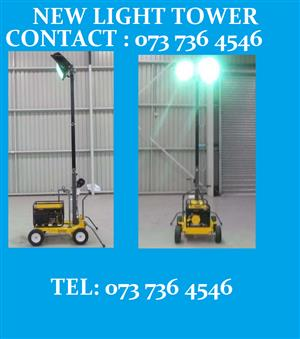 COMPACT SIZE LIGHT TOWER