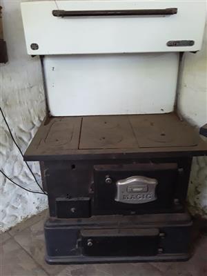 magic coal stove