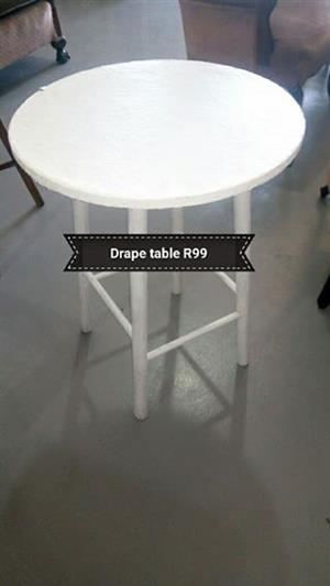 Drape table for sale