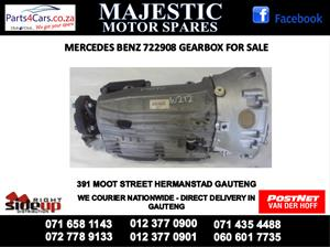Mercedes benz 908 gearbox for sale