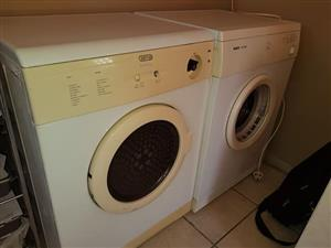 2 x tumble driers 1 x Defy and 1 x Bosch