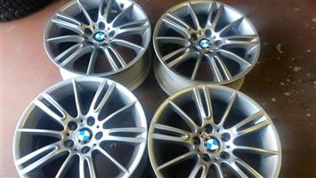 bmw 18inch mag rims for sale