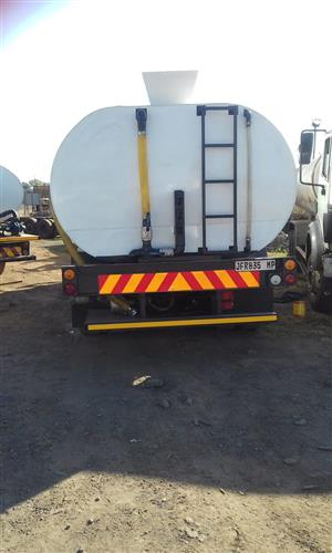 Water truck new 18000L tank toyota dolphin browser