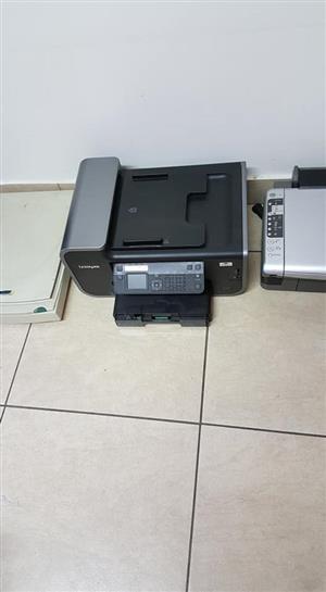 Lexmark multi purpose printer and faxer