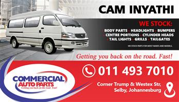 CAM INYATHI SPARES AND PARTS FOR SALE