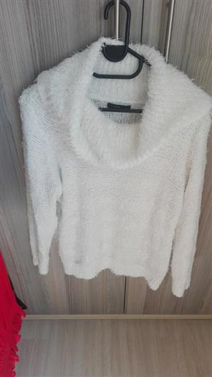 White furry jersey for sale
