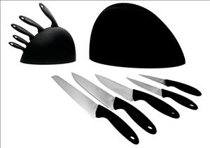 6 Piece Knife Set With Stand!! On Special!!!