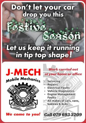 Mobile Mechanic Auto-Electrician - We come to you!