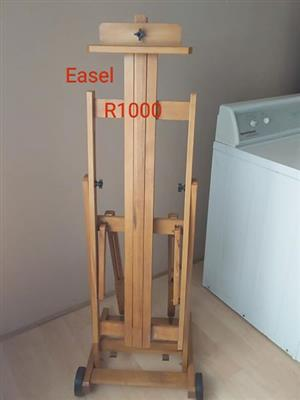 Wooden easel for sale