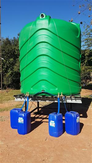Water Tank Stand - Communal Tank Stand