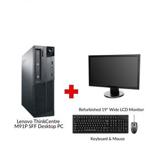 Lenovo ThinkCentre M91P SFF Performance Desktop PC