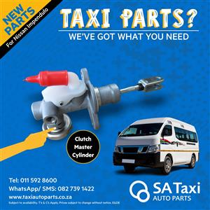 NEW Clutch Master Cylinder suitable for Nissan NV350 Impendulo - SA Taxi Auto Parts quality spares