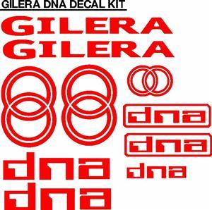 Gilera scooter decals stickers / vinyl cut graphics sets