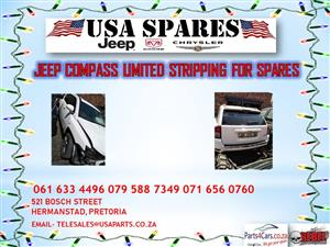 JEEP COMPASS LIMITED STRIPPING FOR SPARES