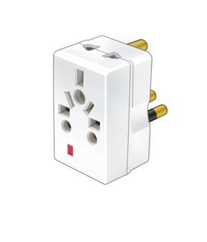 Power Plug Adapter Travel Multi-Plug Power Socket Adapter.
