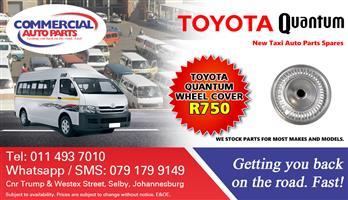 Wheel Cover For Toyota Quantum Sesfikile For Sale.