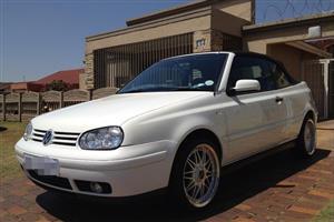 2001 VW Golf cabriolet