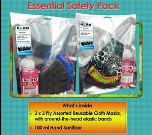 Gloves/masks/sanitizers/face shields