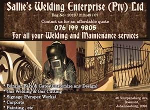 Sallie's Welding and Maintenance Enterprise